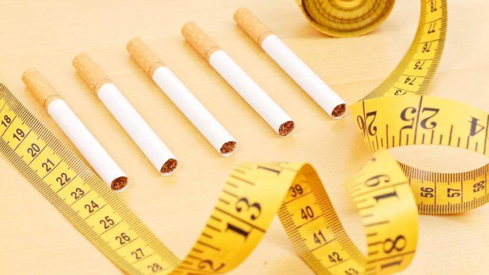Ganho de peso quando se pára de fumar